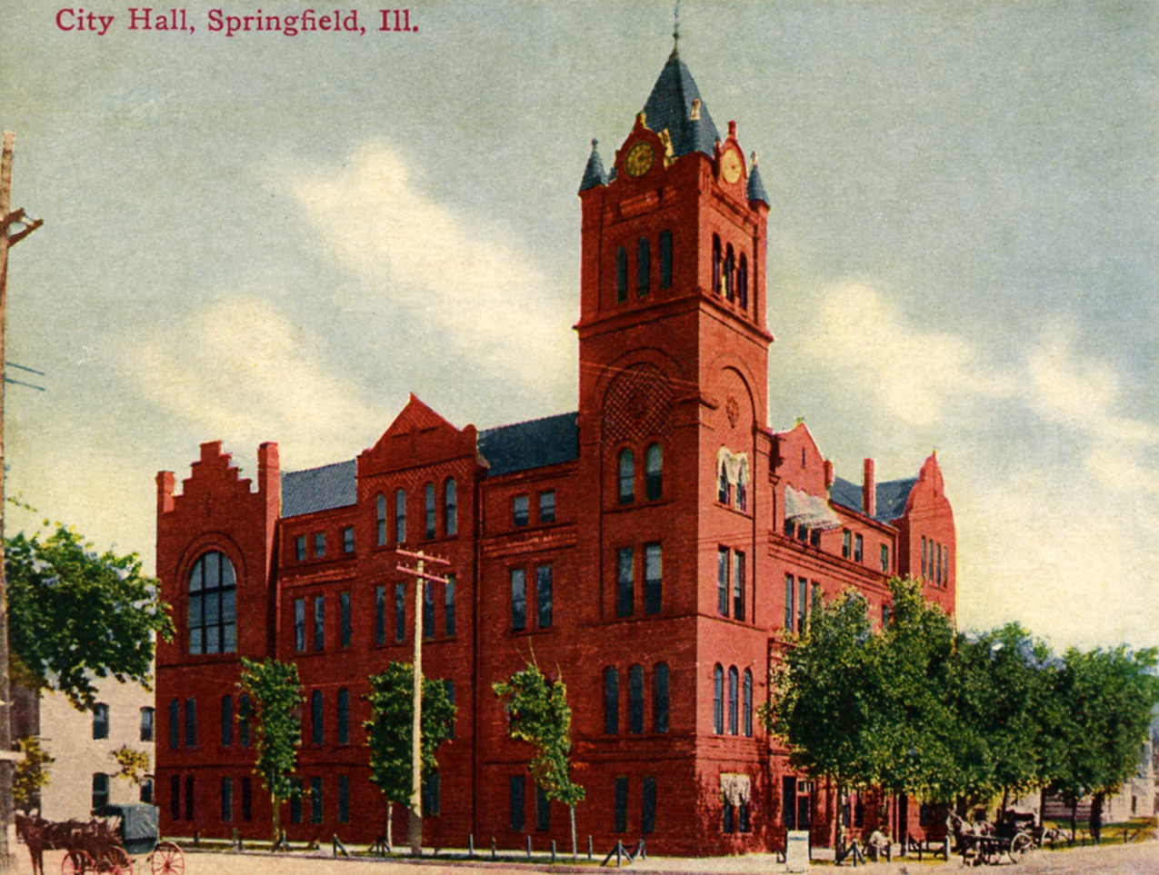 City Hall in Springfield, IL 1894