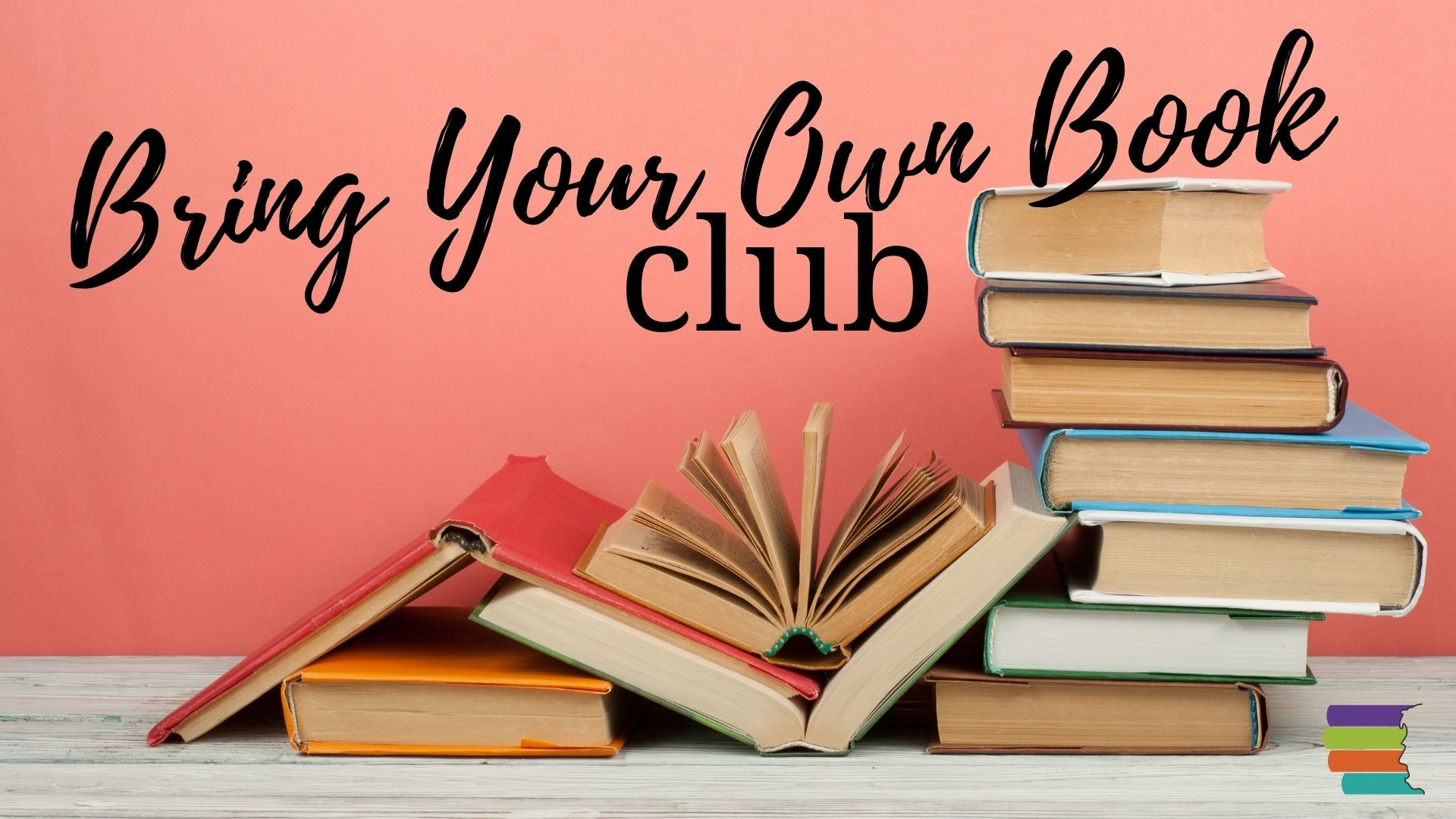 book stacks_bring your own book club