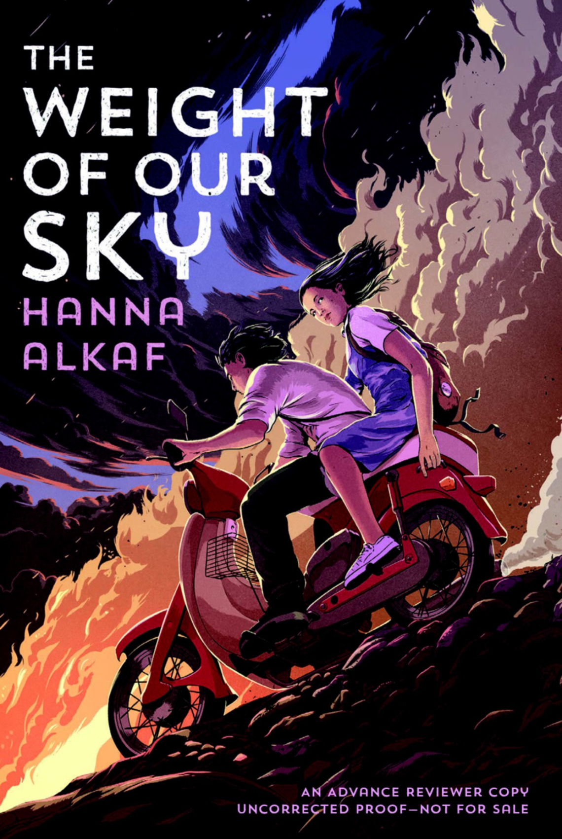 "Image for ""The Weight of Our Sky"""