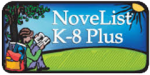 novelist K-8 Plus logo button
